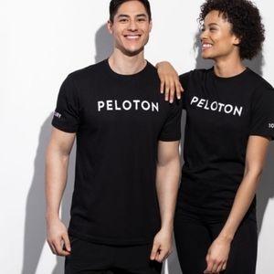 Peloton Century Ride Black T-shirt Large